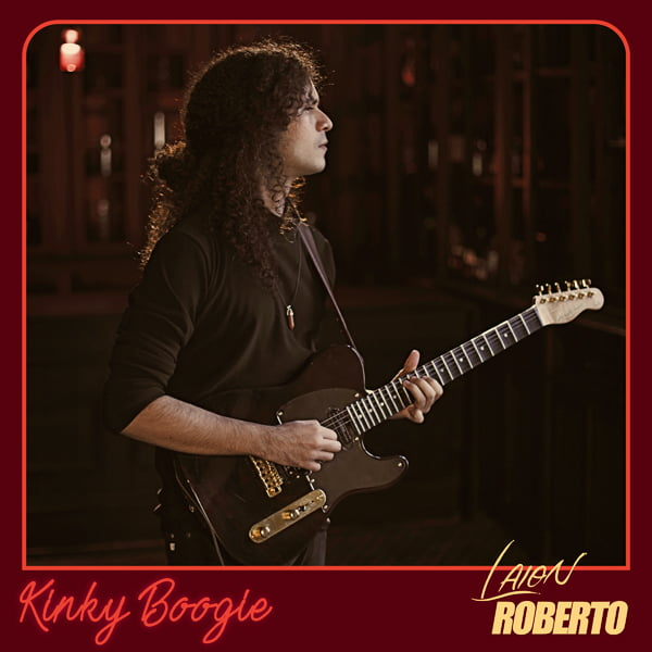"Laion Roberto: guitarrista lança videoclipe da música ""Kinky Boogie"""