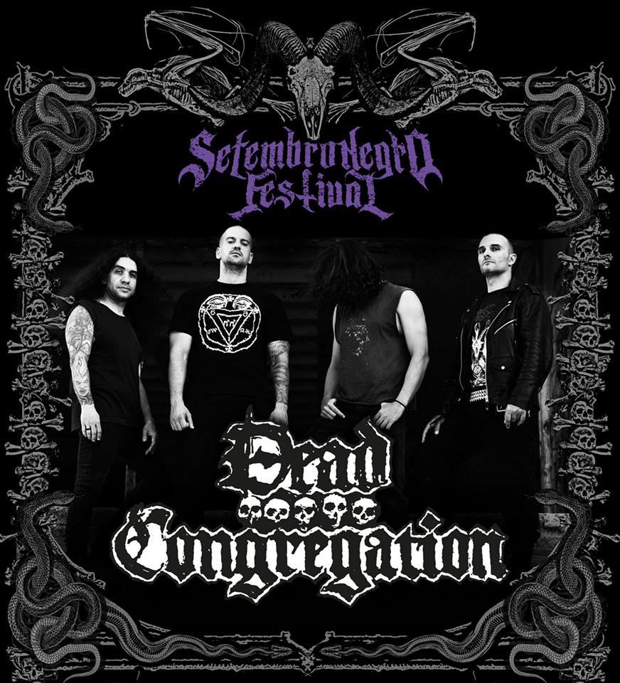 Dead Congregation: Gregos trazem seu Death Metal ao Setembro Negro Fest 2019