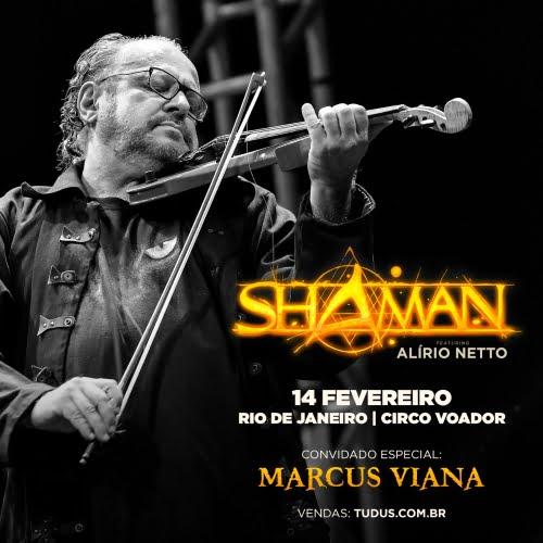 Shaman: Marcus Viana fará participação especial em SP e RJ