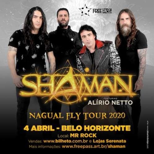 Shaman com Alirio Netto: Nagual Fly Tour passará por BH em Abril