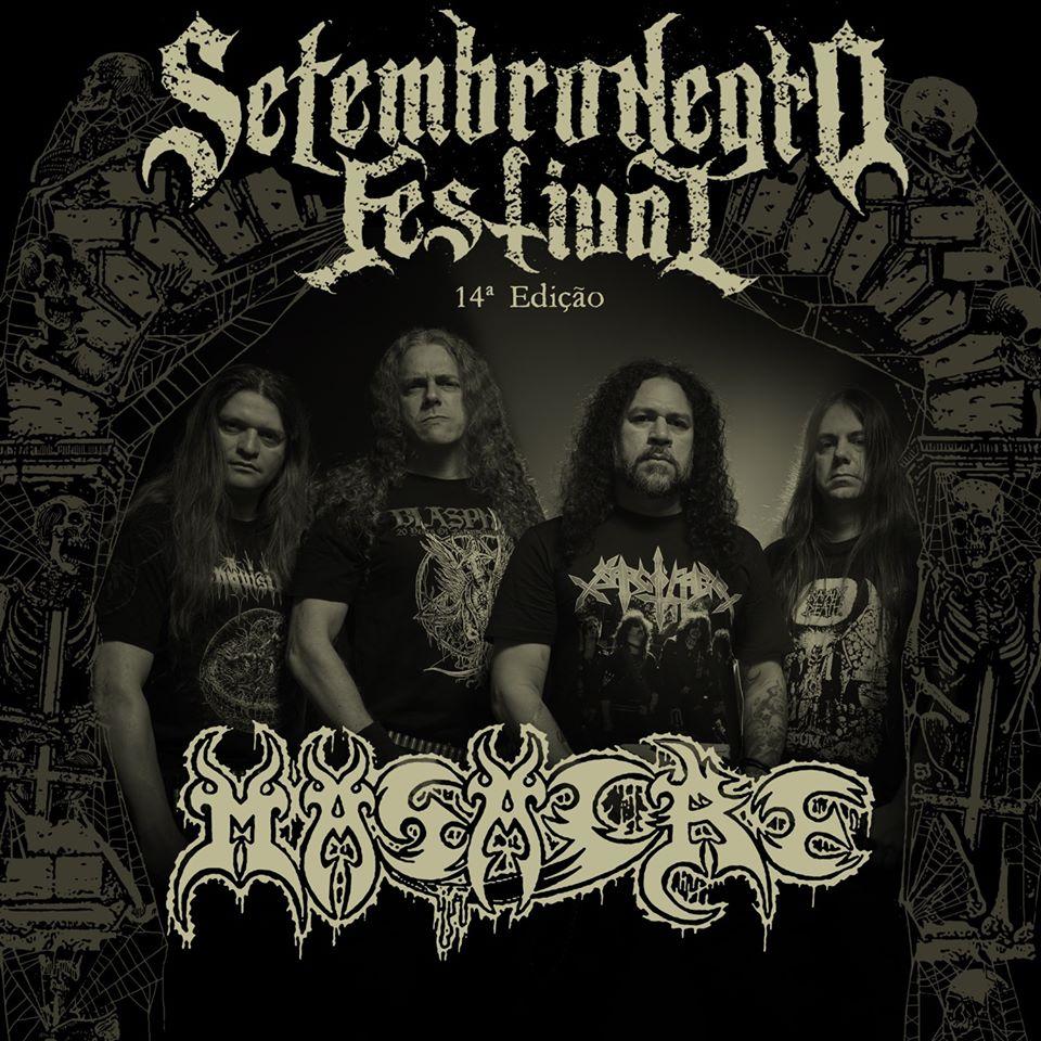 Masacre: Veterana banda de Death Metal da Colômbia se apresenta no Setembro Negro 2020