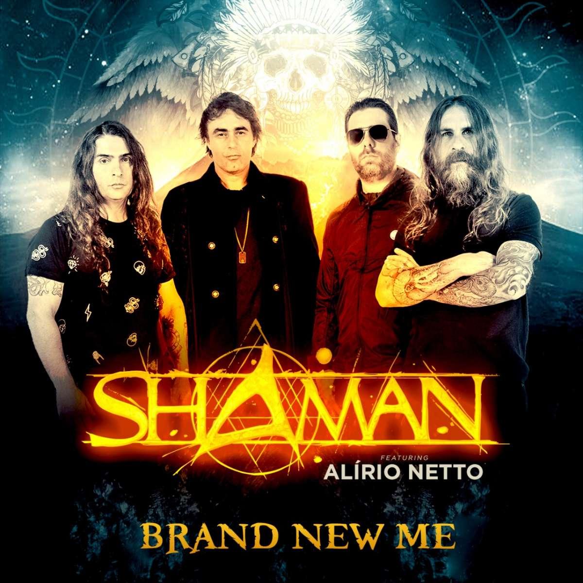 """Shaman + Alirio Netto: """"Brand New Me"""" será lançada dia 13 de março"""