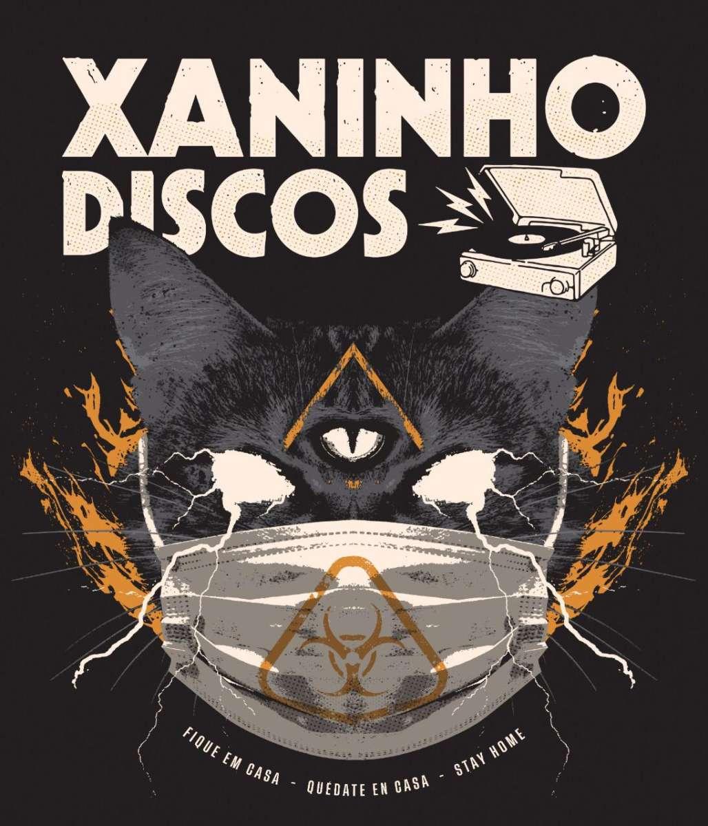 Novos trabalhos de Corazones Muertos, Vazio e Macakongs 2099 lançados pela Xaninho Discos
