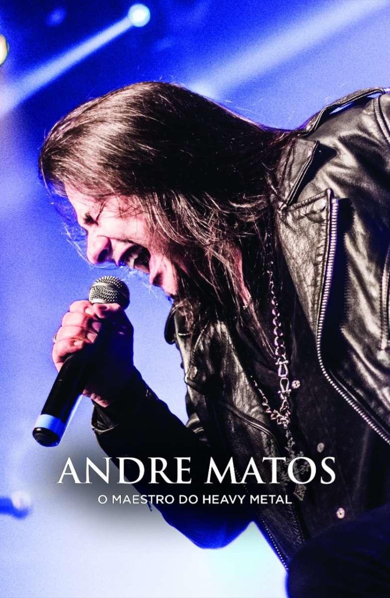 """Biografia """"André Matos: o maestro do Heavy Metal"""" está vindo aí."""