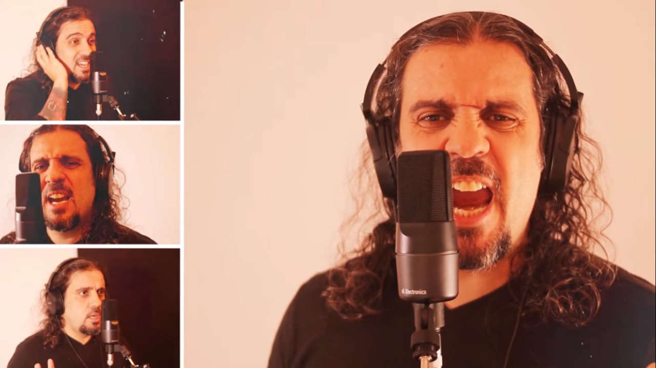 "Leandro Caçoilo lança vídeo cantando ""Prelude to Oblivion"" do Viper"