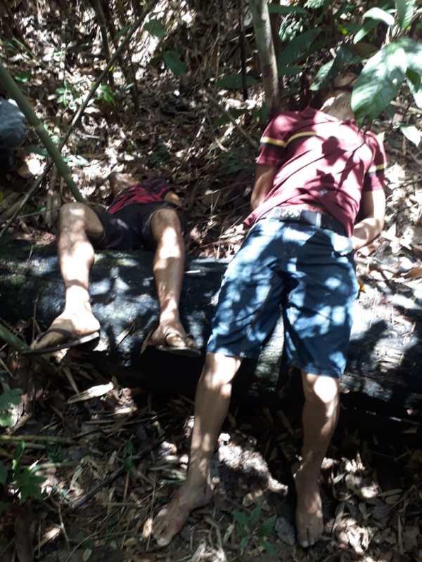 Caçador encontra dois corpos em mata do bairro Belo Jardim na tarde deste domingo