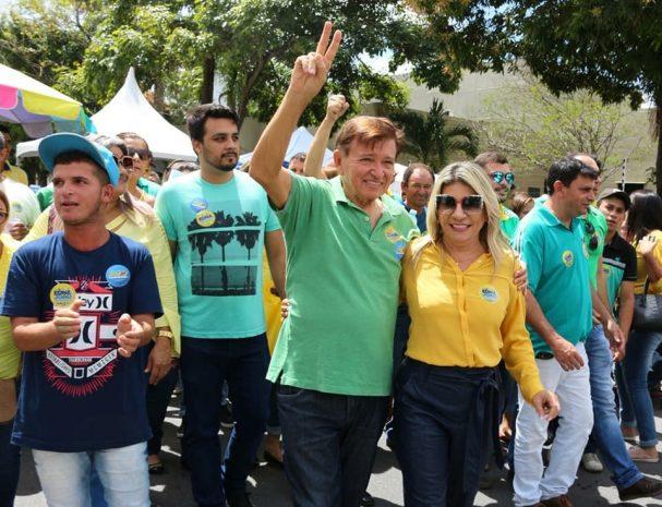 """E7F0AEDB 87C6 4279 9F37 D64BEBD03AA5 607x465 - """"Se uniram contra nós, mas o povo deu a resposta"""" desabafa deputado João Henrique após reeleição"""