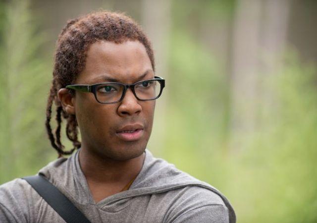 Heath in The Walking Dead Season 6 Episode 12