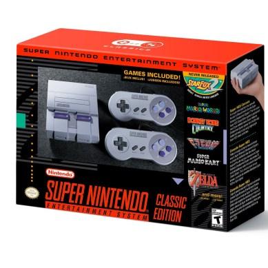 Nintendo   SNES Classic Edition tá chegando