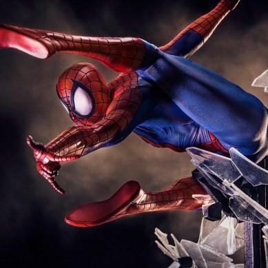 Homem-Aranha   Estátua exclusiva está à venda na Iron Studios Concept Store