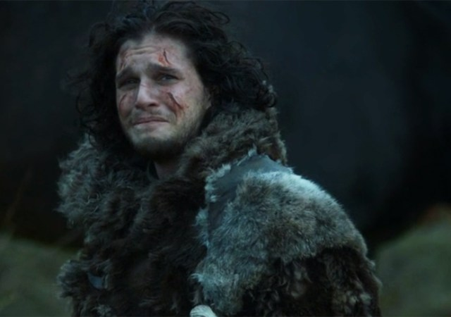 jonsnow leaves ygritte