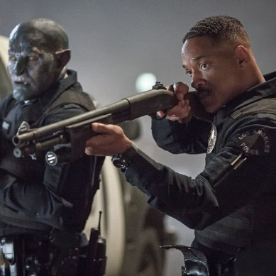 Will Smith no featurette repleto de ação de Bright, um Filme Netflix