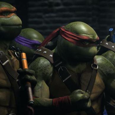 Cowabunga! WB Games revela o primeiro trailer de gameplay das Tartarugas Ninja em Injustice 2
