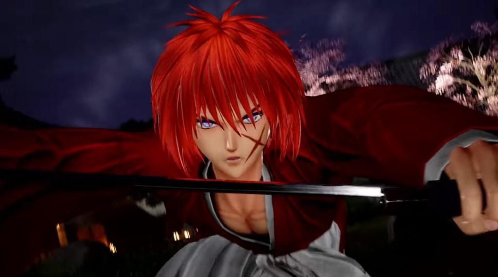 Himura Kenshin e Shishio Makoto Jump Force