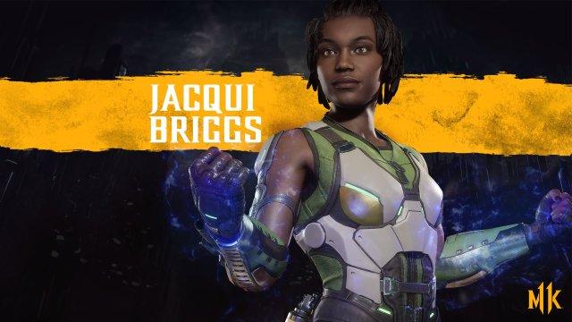 Jacqui Briggs em Mortal Kombat 11