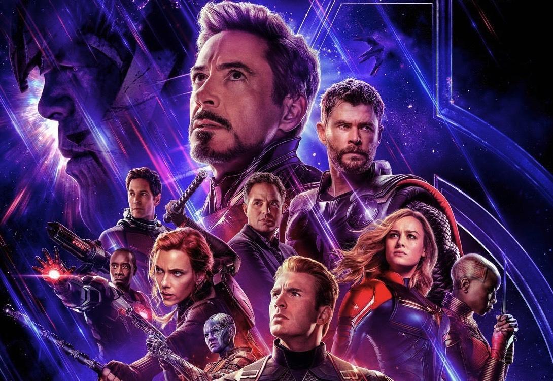 avengers endgame poster top half