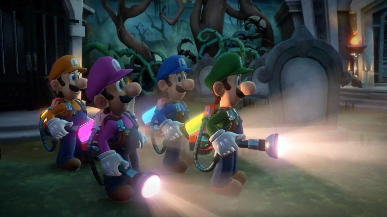 565810 Luigi Mansion 3 ScreamPark