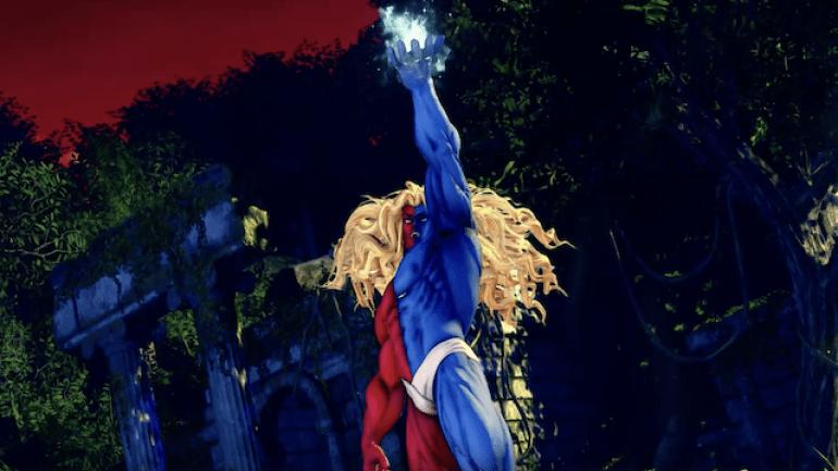 Street Fighter V Gill
