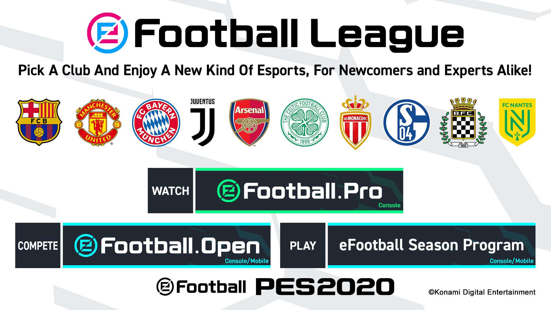 eFootball league 01 PES