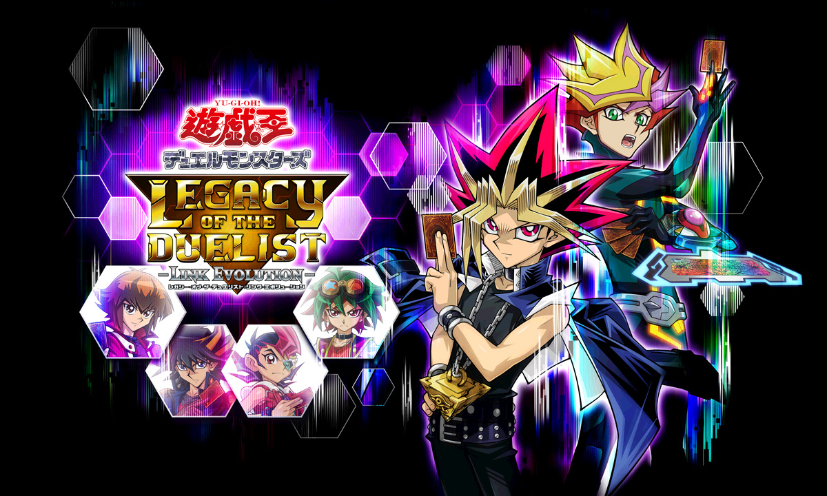 Yu Gi Oh Legacy of the Duelist Link Evolution KeyArt Retang