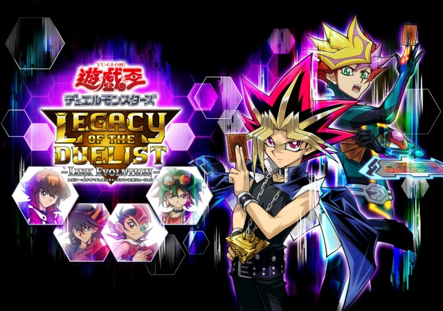 Yu Gi Oh Legacy of the Duelist Link Evolution KeyArt Retang