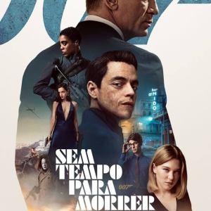 007 Sem Tempo para Morrer - Poster Original