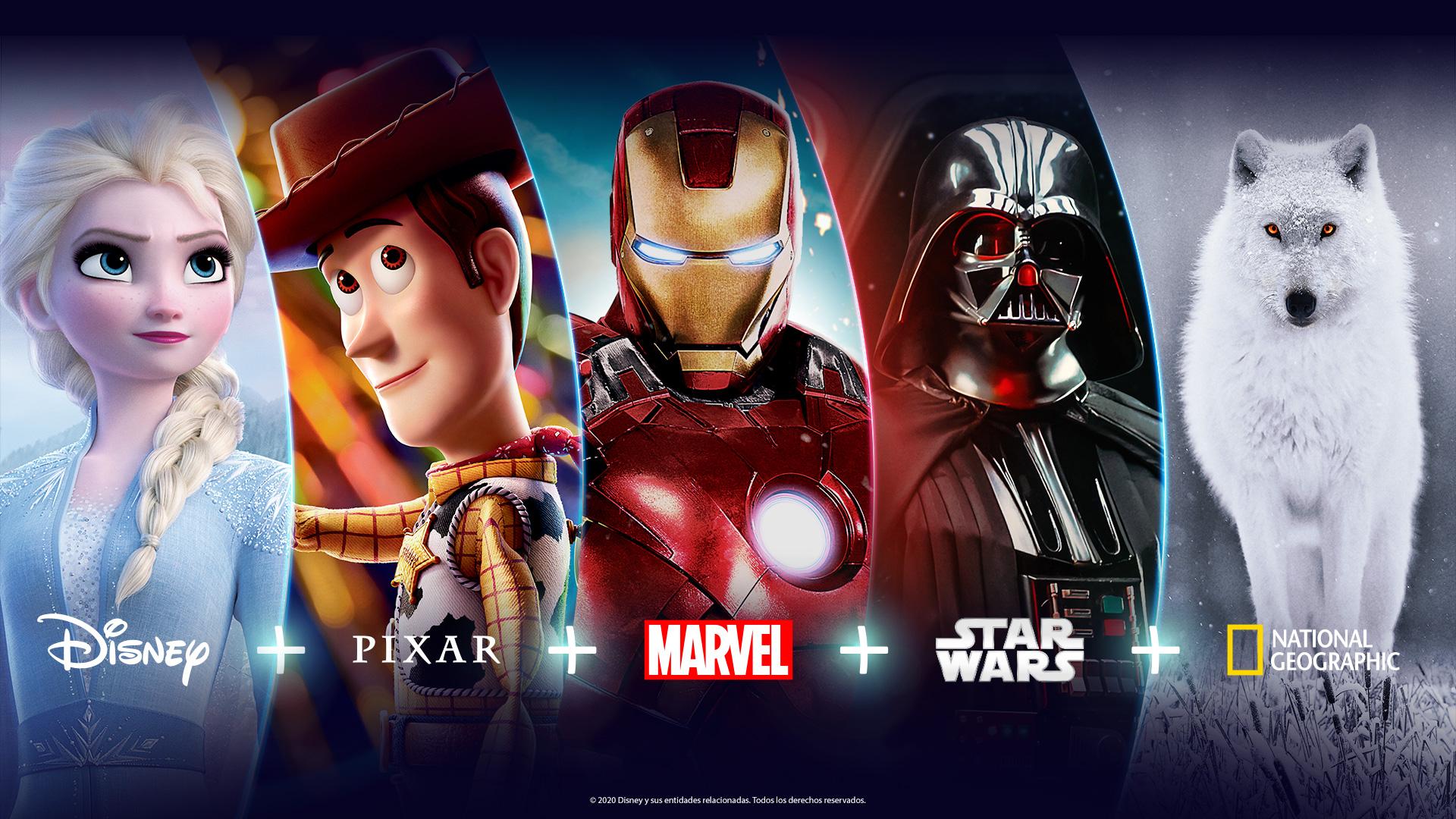 Disney+ no Brasil.