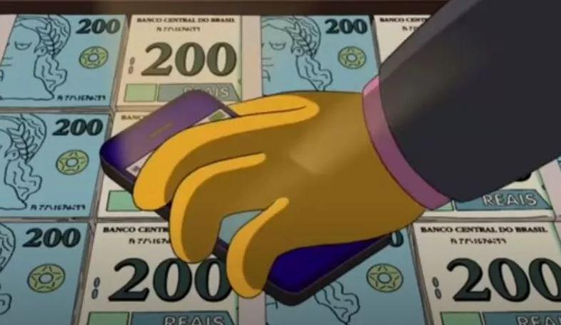 Notas de 200 reais