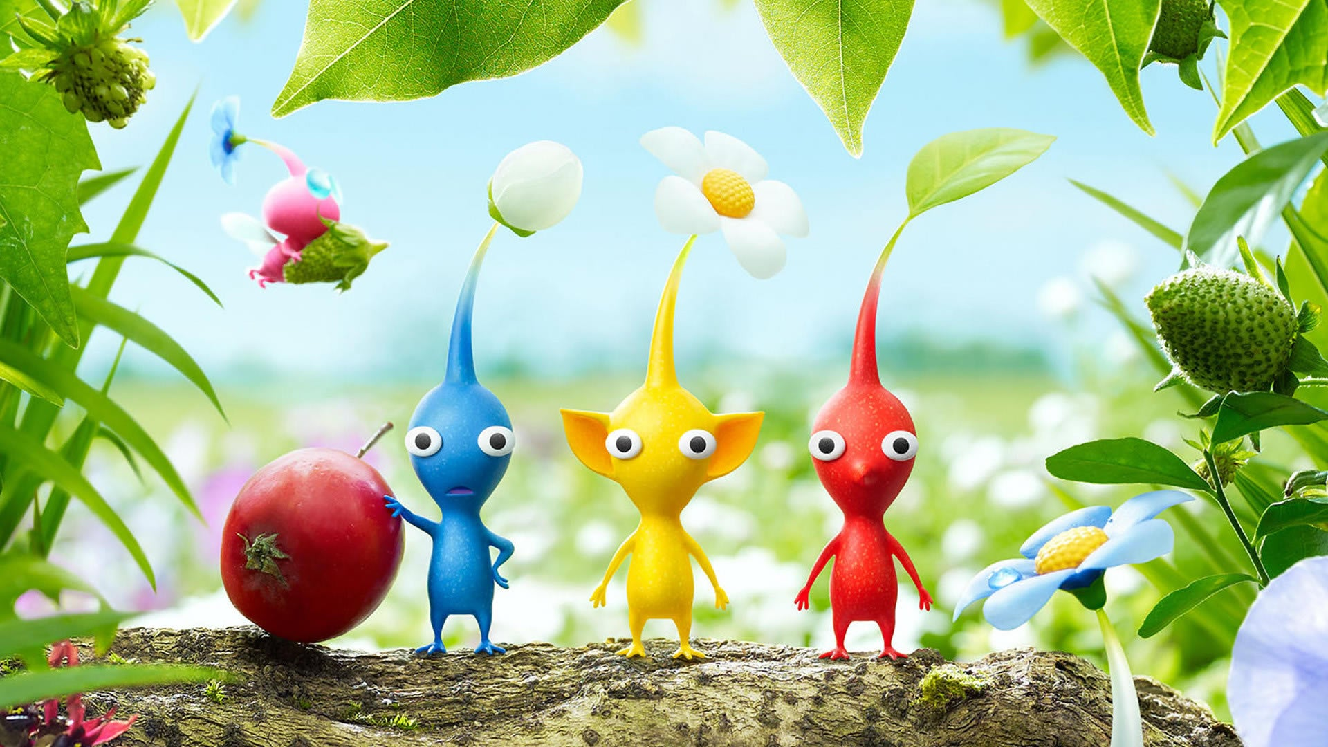 pikmin 3 deluxe announced for nintendo switch e4f4
