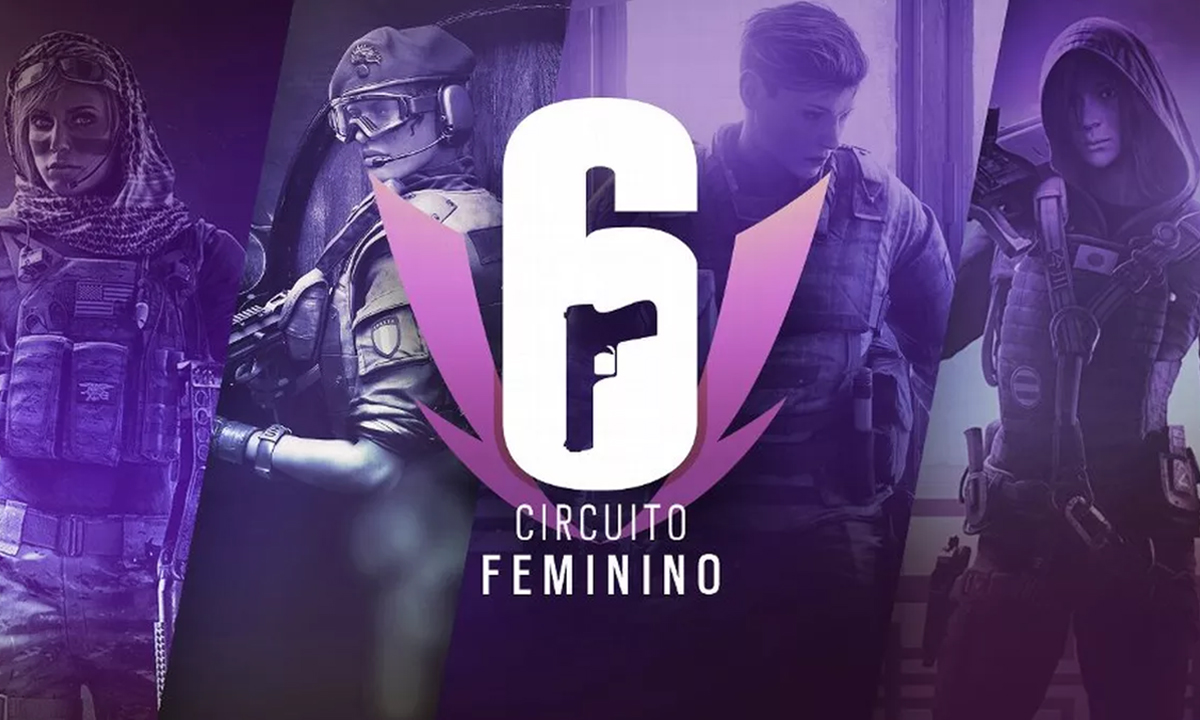 post por dentro do circuito feminino de rainbow six siege 2020