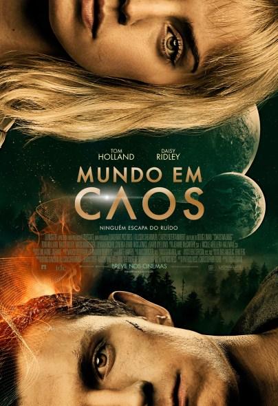 Poster Mundo em Caos 64x94cm