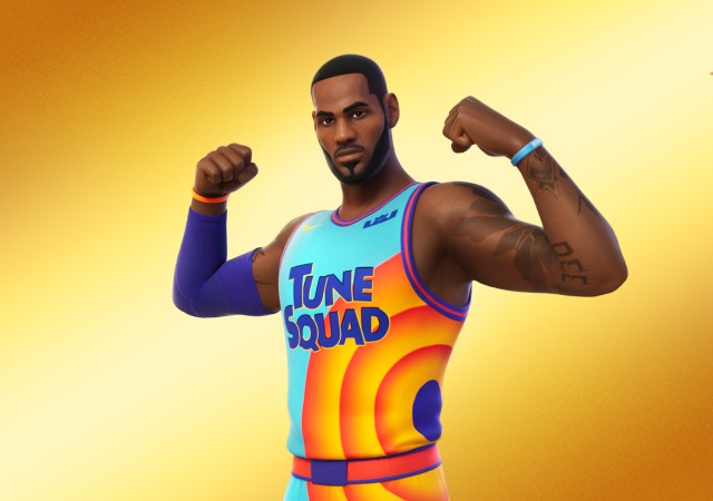 LeBron James Tune Squad