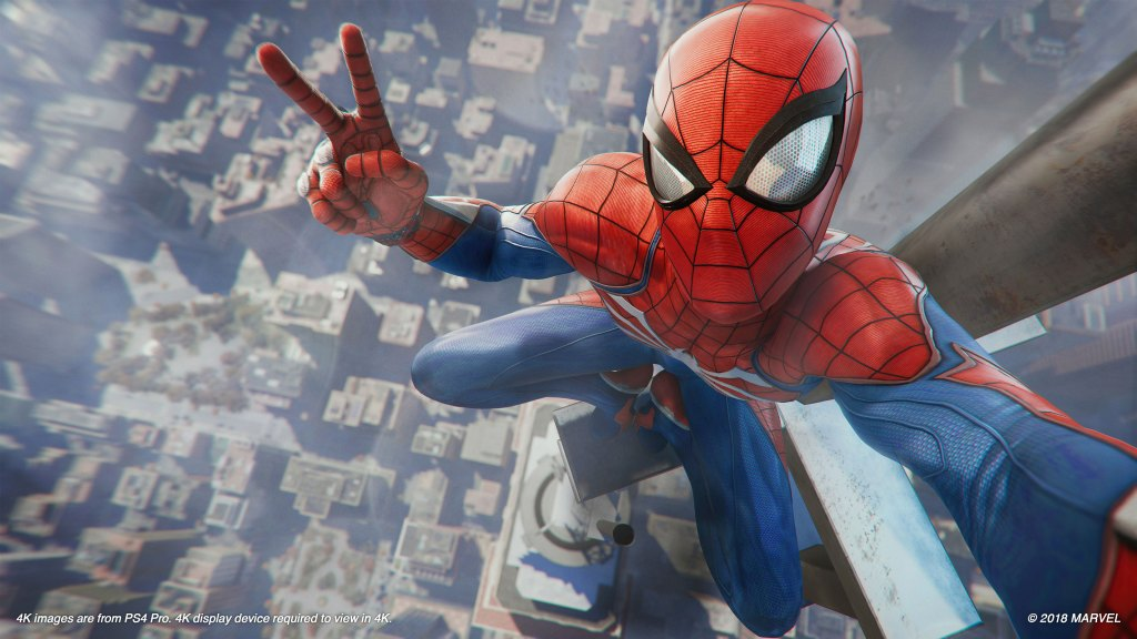 Spider Man PS4 Selfie Photo Mode LEGAL