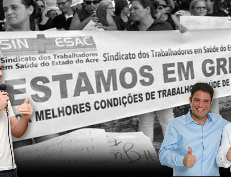 Greve na Saúde: Sindicalista reafirma luta pelos direitos dos trabalhadores e denuncia perseguição