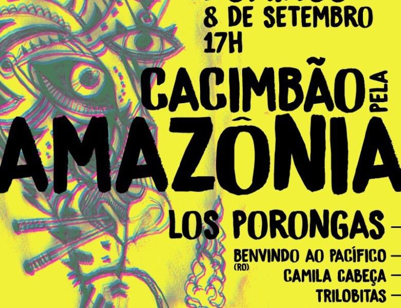 Cacimbão pela Amazônia, evento ambiental recebe banda de rock alternativo de Porto Velho