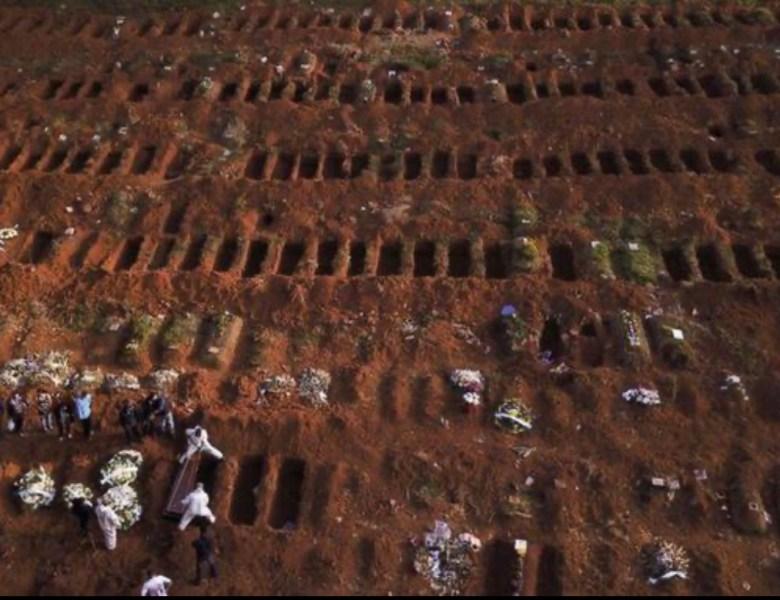 Mortes por coronavírus no Brasil podem ultrapassar 125.000 em agosto, aponta estudo dos EUA