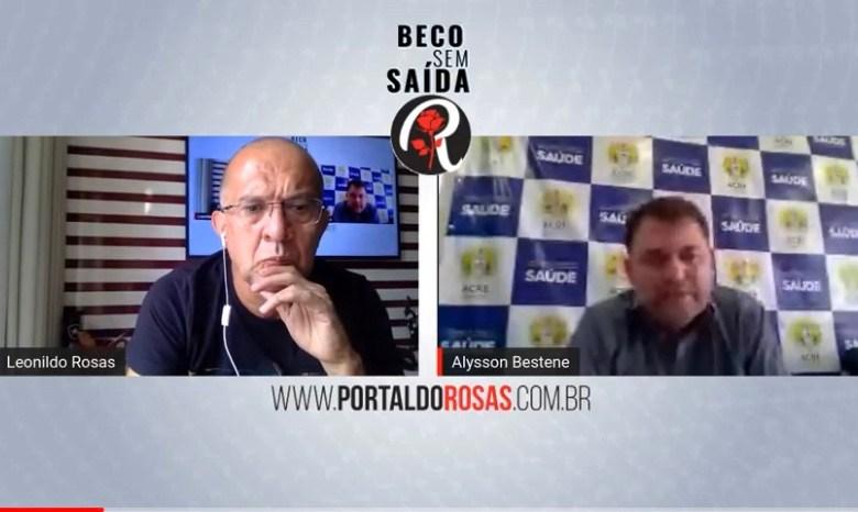 """""""Estarei onde estiver o governador Gladson Cameli"""", diz Alysson Bestene sobre a eleição em Rio Branco"""