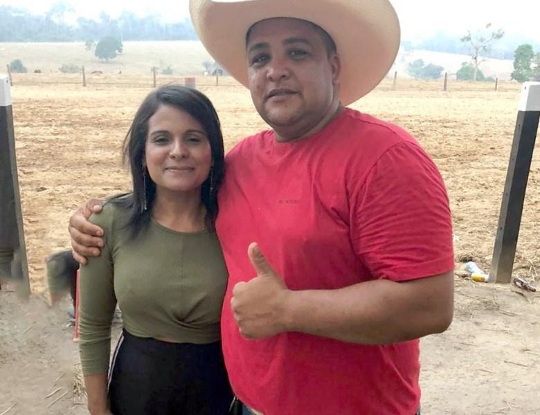 Pecuarista e locutor de rodeio Jenezio Bezerra será o vice da professora Neide Lopes em Epitaciolândia