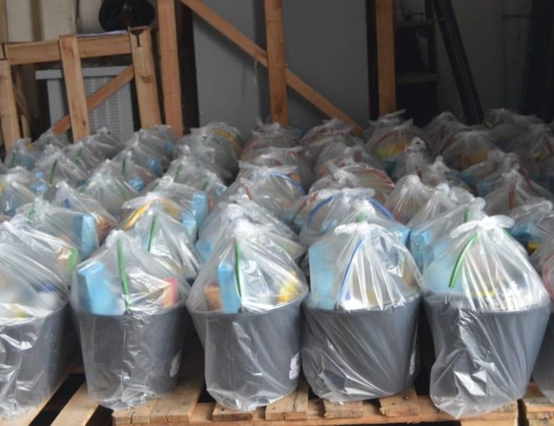 Perpétua: Gabinete Solidário entrega kits de limpeza para famílias atingidas pela alagação