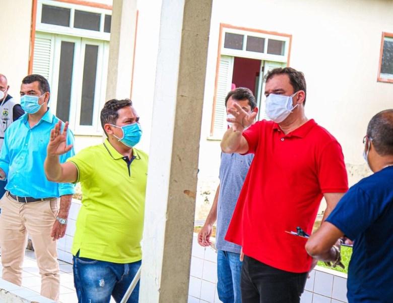 Daniel Zen e comitiva fiscalizam funcionamento de hospitais do Acre
