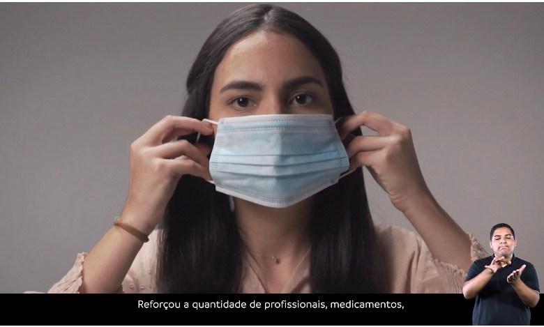 """VÍDEO – Em propaganda oficial, governo joga a responsabilidade pelo combate ao coronavírus para à população: """"Agora é com você"""""""