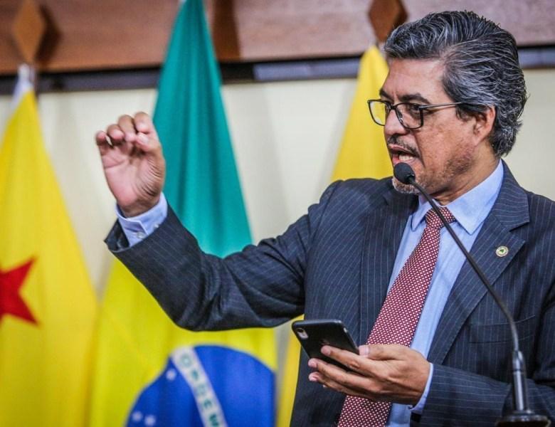 Edvaldo apresenta projeto para que governo pague o grau máximo de insalubridade aos servidores da Saúde