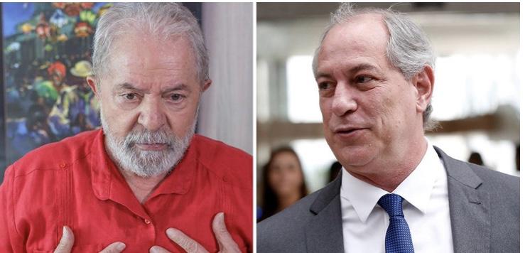 Lula ironiza pedido de Ciro para que ele saia da disputa: quem tem 30% deve desistir em favor de quem tem 3%?