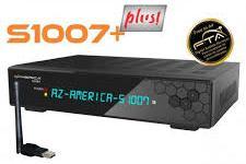 Atualização Azamerica S1007+ Plus HD