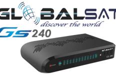 Atualização Globalsat GS 240 HD V2.15 Novidades em SKS 63W