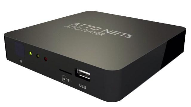 Atualização Atto net 5 HD V1.56 - IPTV Vod Corrigido