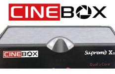 Atualização Cinebox Supremo X2 HD SKS, IKS e IPTV Corrigidos