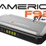 Atualização Azamerica F92 Plus Cabo net V1.03 - 24/10