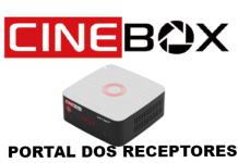 Atualização Cinebox Optimo+ Plus HD Correção de Canais