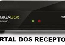 Atualização Gigabox S200 SD SKS Estabilizado